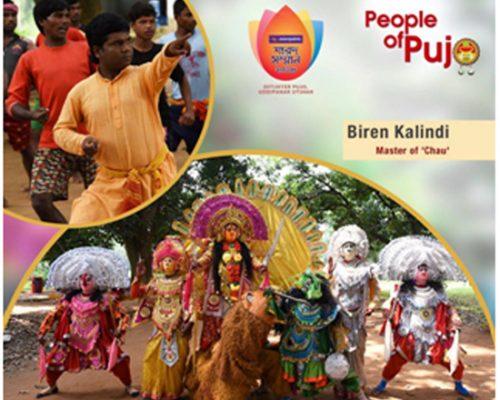 people of pujo_Biren Kalindi - Master of Chau_5